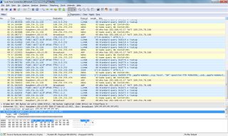 Wireshark for DevKit IP discovery