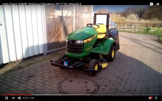 John Deere X300R (video at 0:15s)