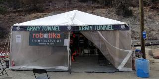 Robotika at Army tunnel